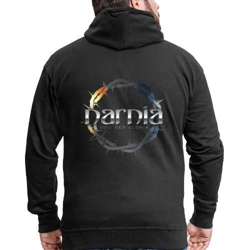 Narnia - Soli Deo Gloria - Men's Premium Hooded Jacket