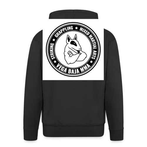Vega Baja MMA Final Logo jpg - Men's Premium Hooded Jacket