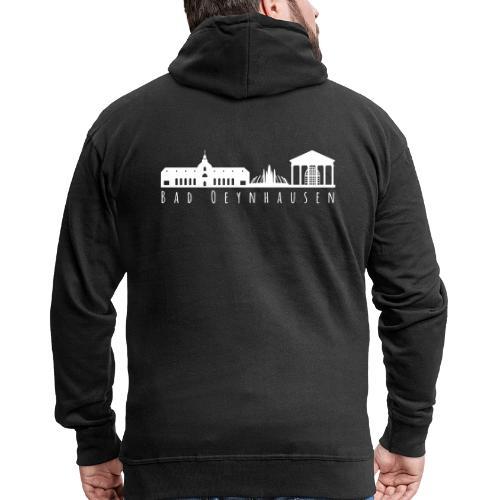 Silhouette der besten Kurstadt - Männer Premium Kapuzenjacke