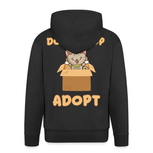 ADOBT DONT SHOP - Adoptieren statt kaufen - Männer Premium Kapuzenjacke