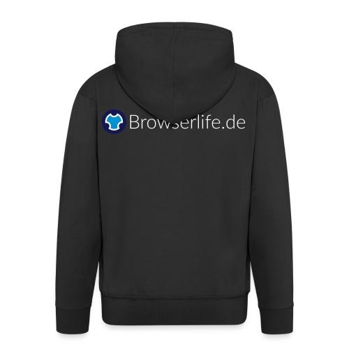 Browserlife Logo - Männer Premium Kapuzenjacke