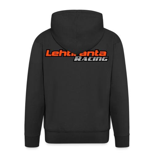 Lehtiranta racing - Miesten premium vetoketjullinen huppari