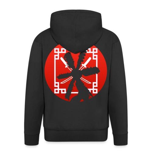 Samurai - Men's Premium Hooded Jacket