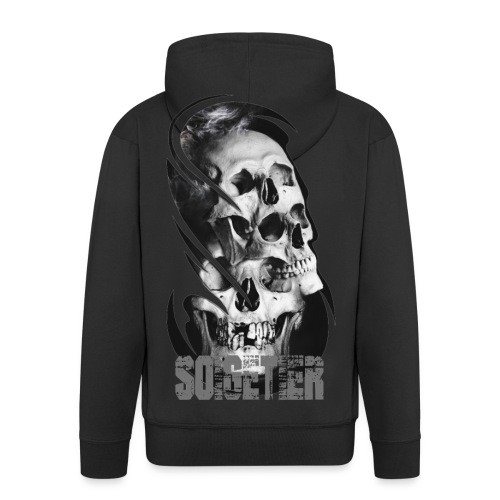 3 skulls - Männer Premium Kapuzenjacke
