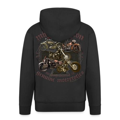 Milwaukee Motorcycles Choppers Biker - Männer Premium Kapuzenjacke