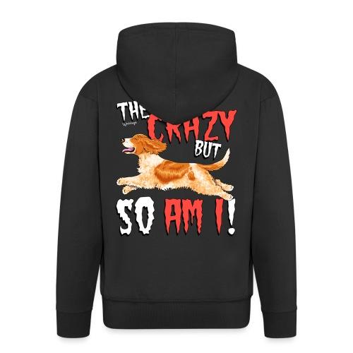 cockercrazy10 - Men's Premium Hooded Jacket