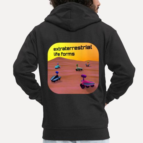 Leben auf dem Mars - Men's Premium Hooded Jacket