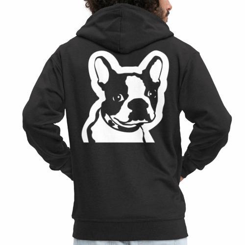 Bulldog francés - Chaqueta con capucha premium hombre