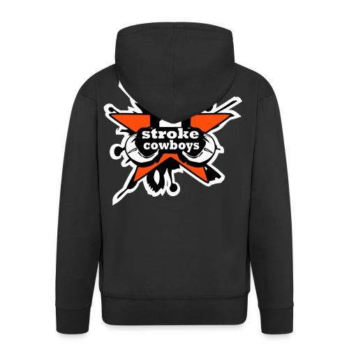 2_sc_logo_bunt_2_END - Männer Premium Kapuzenjacke