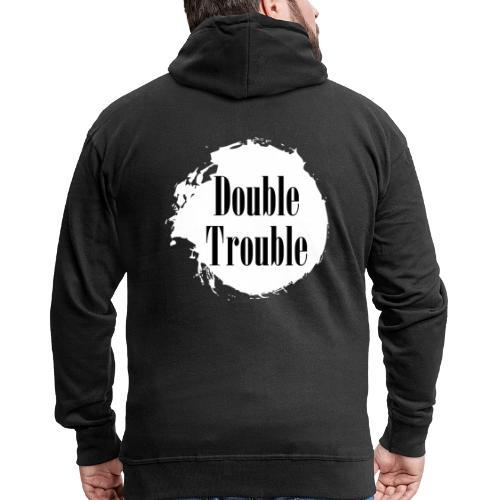 Double trouble - Männer Premium Kapuzenjacke