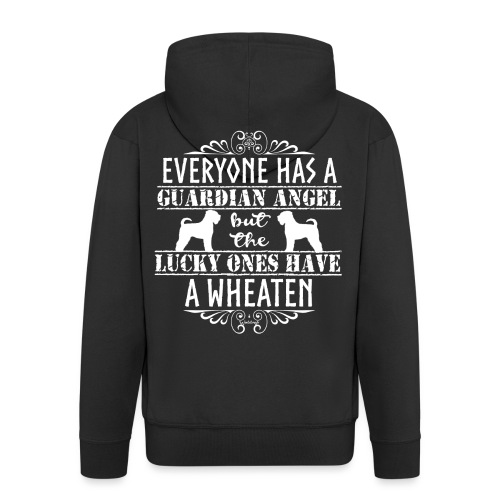 wheatenangels3 - Men's Premium Hooded Jacket