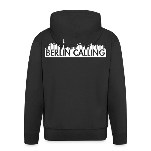Berlin Calling - Männer Premium Kapuzenjacke