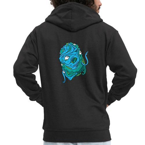 Floating Blobman - Men's Premium Hooded Jacket
