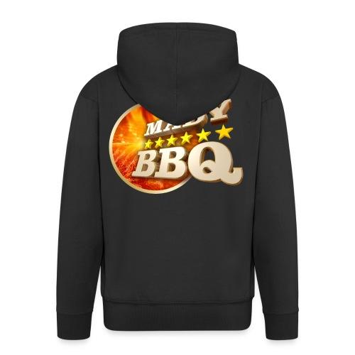 madybbq 150dpi - Männer Premium Kapuzenjacke