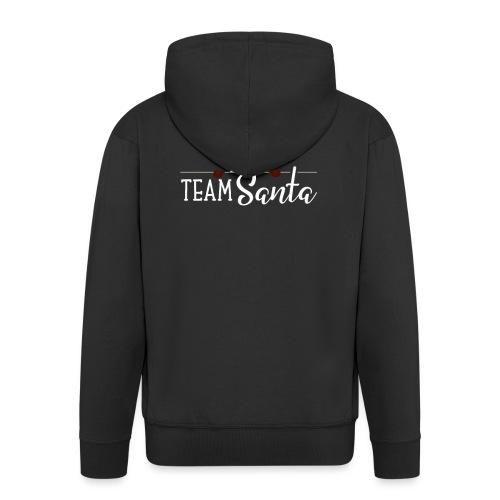 Team Santa Outfit für Familien Weihnachtsoutfit - Männer Premium Kapuzenjacke