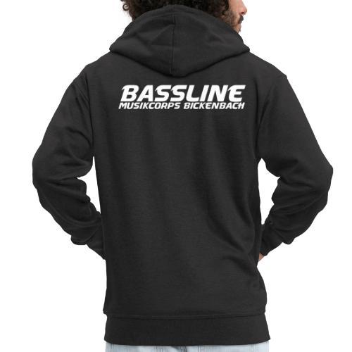 logo bassline - Männer Premium Kapuzenjacke