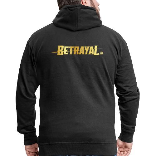 00417 Betrayal dorado - Chaqueta con capucha premium hombre