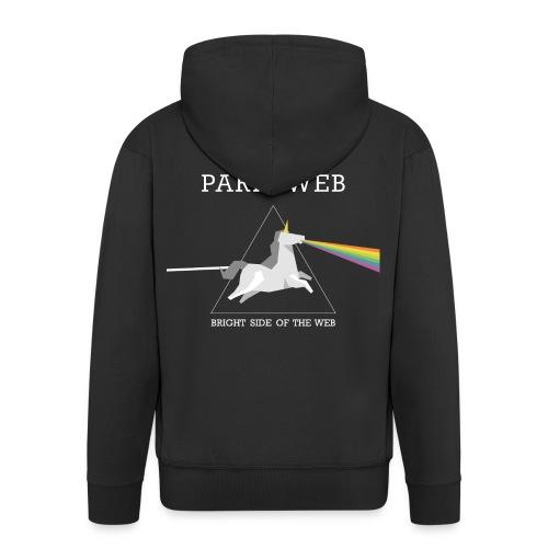 Bright side of the web hoodie - Veste à capuche Premium Homme