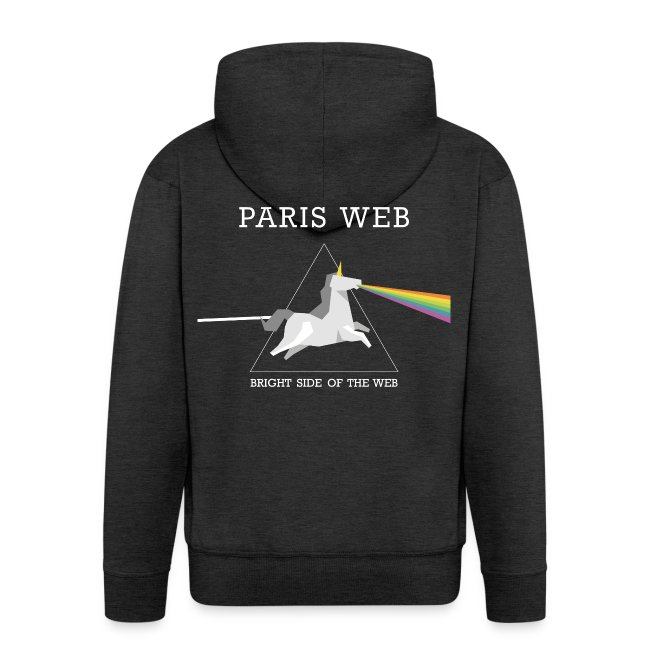 Bright side of the web hoodie