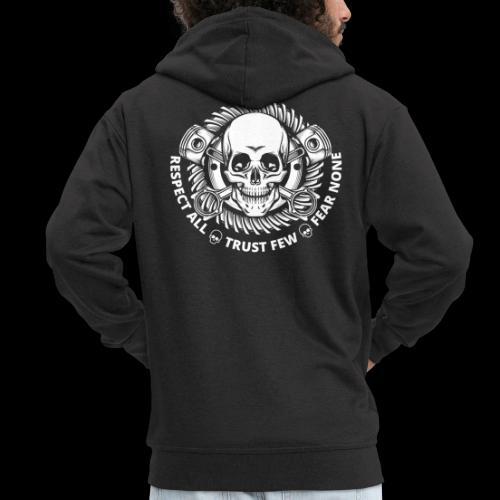 No Fear Skull - Männer Premium Kapuzenjacke