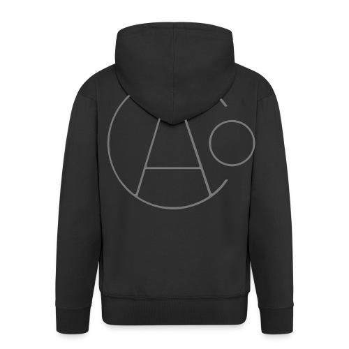 Age of Consent Logo - Men's Premium Hooded Jacket