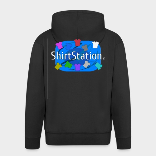 ShirtStation - Men's Premium Hooded Jacket