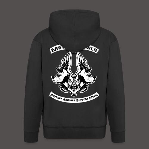 Logo Officiel MetalAnimals - Veste à capuche Premium Homme