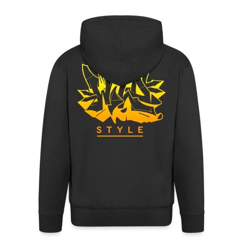 √ Wild Style - Herre premium hættejakke