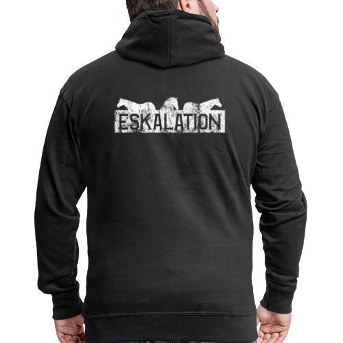 Eskalation - Männer Premium Kapuzenjacke