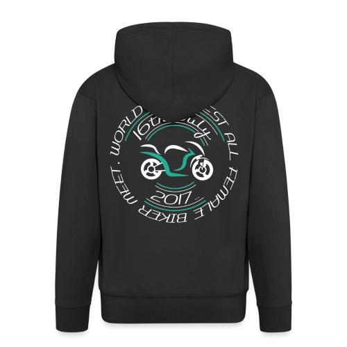 blacktshirt logo png - Men's Premium Hooded Jacket