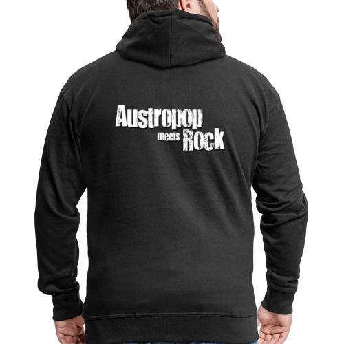 Austropop meets Rock classic back - Männer Premium Kapuzenjacke