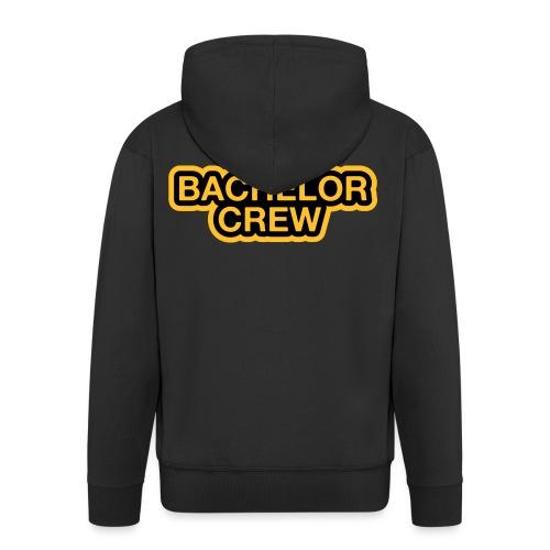 Bachelor Crew - Bachelor T-Shirt - Bräutigam Shirt - Männer Premium Kapuzenjacke