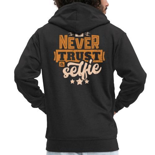 Never trust - Premium-Luvjacka herr