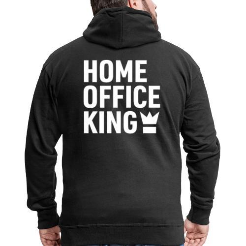 Mitarbeiter Kollege Home Office Quarantäne Corona - Männer Premium Kapuzenjacke