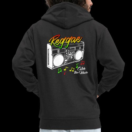 Reggae - Catch the Wave - Männer Premium Kapuzenjacke