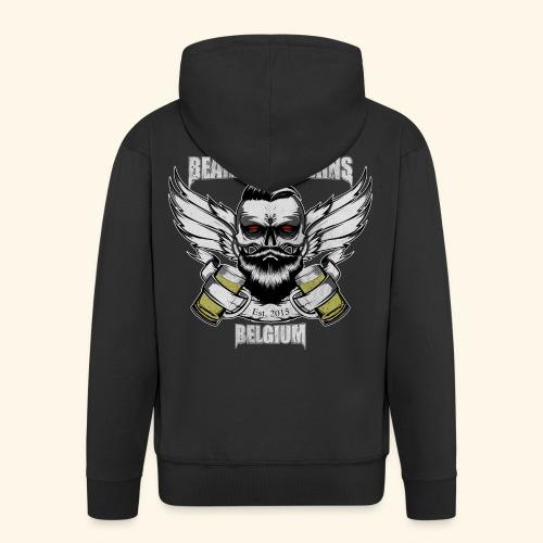 Bearded Villains Belgium - Men's Premium Hooded Jacket