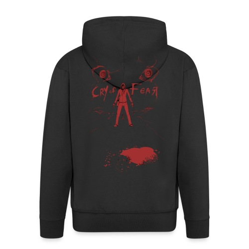 Cry of Fear - Design 5 - Men's Premium Hooded Jacket