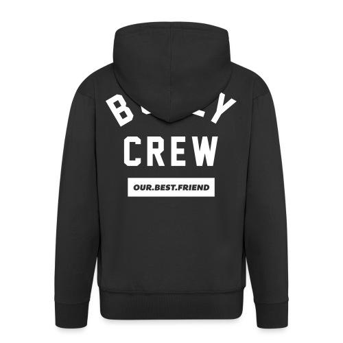 Bully Crew Letters - Männer Premium Kapuzenjacke