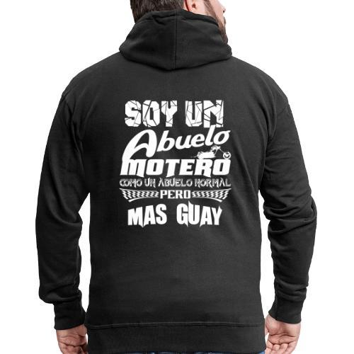 Soy un abuelo motero - Chaqueta con capucha premium hombre