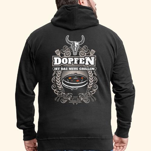 Dutch Oven T Shirt Dopfen ist das neue Grillen - Männer Premium Kapuzenjacke