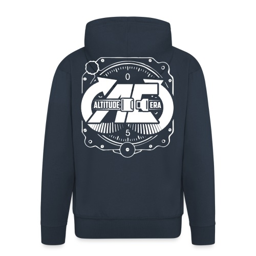 Altitude Era Altimeter Logo - Men's Premium Hooded Jacket