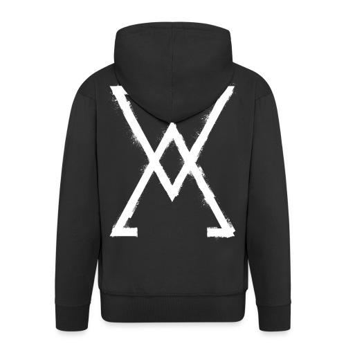 symbol arsenic 1 - Men's Premium Hooded Jacket