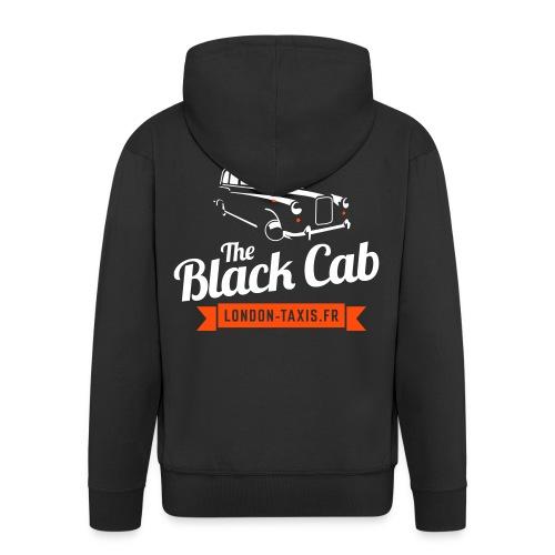 The Black Cab - Veste à capuche Premium Homme