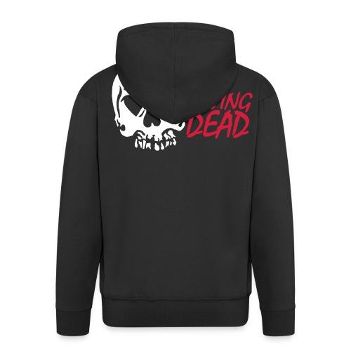 Loving Dead Logo - Männer Premium Kapuzenjacke