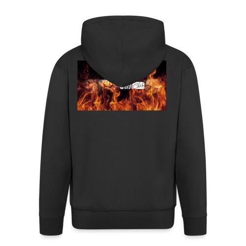 Barbeque Chef Merchandise - Men's Premium Hooded Jacket