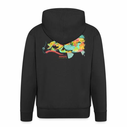 'Goldie - Goldsinny Wrasse - LRF Fishing - Men's Premium Hooded Jacket