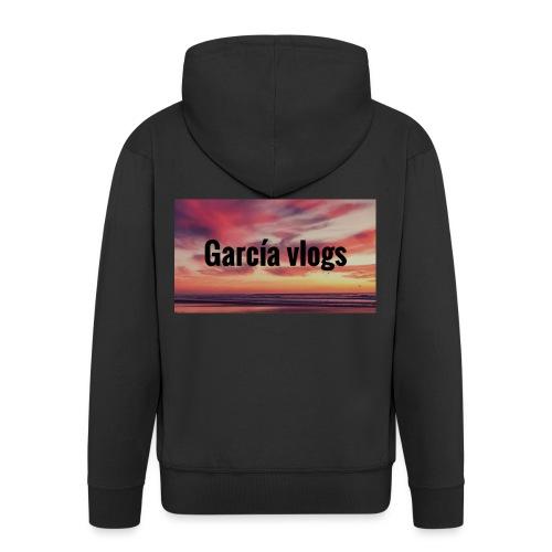 Garcíavlogs - Chaqueta con capucha premium hombre