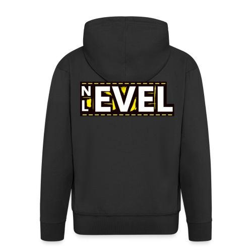 Nevel Level Yellow - Men's Premium Hooded Jacket