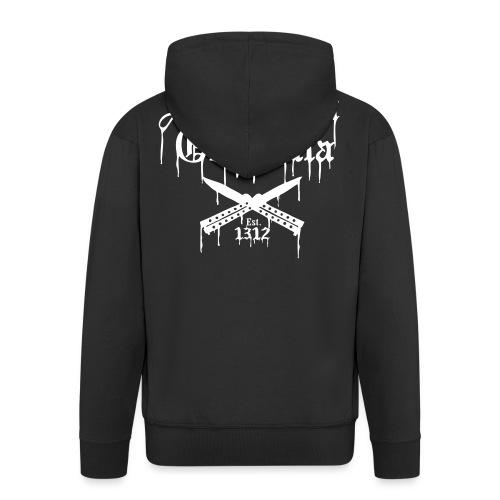 Suburban Guerrilla - Miesten premium vetoketjullinen huppari
