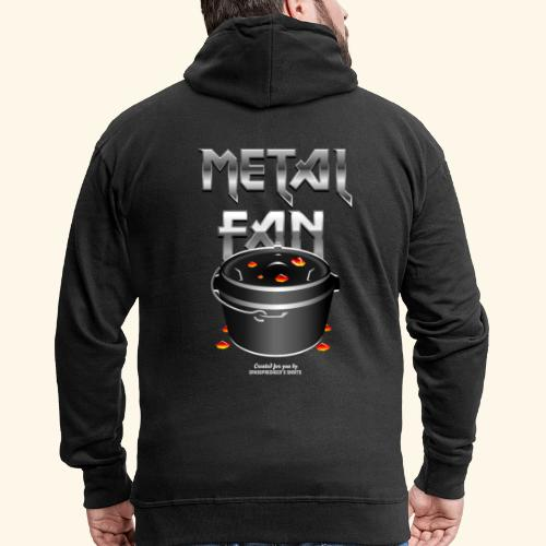 Metal Fan | Dutch Oven T-Shirts - Männer Premium Kapuzenjacke